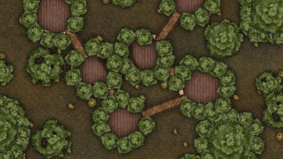 Treehouse Battlemap