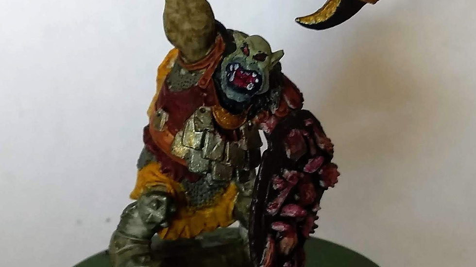 Orc Warlord (Miniature Painting)