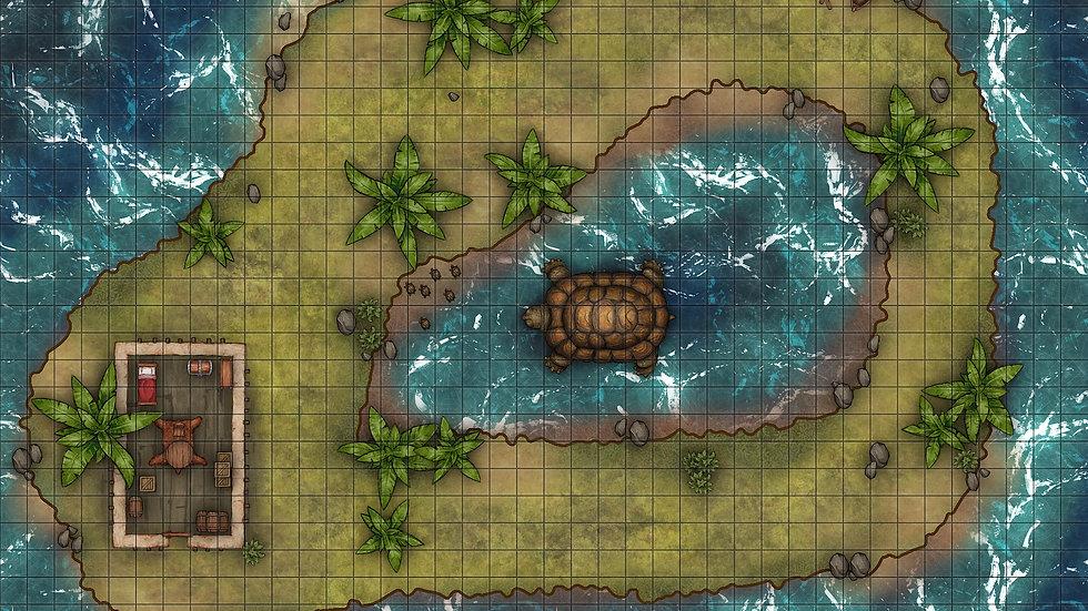 Turtle Cove Battlemap