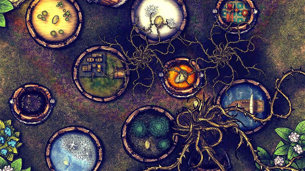 Many Worlds Battlemap