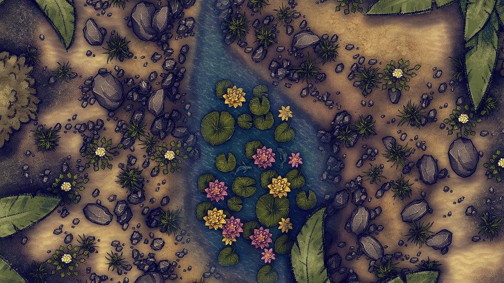Secret Serenity Battlemap