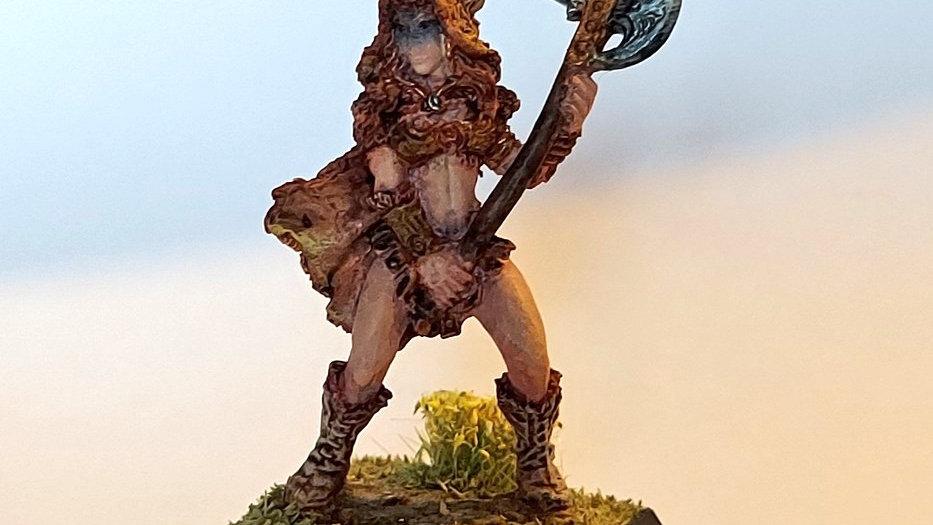 Female Barbarian (Miniature Painting)