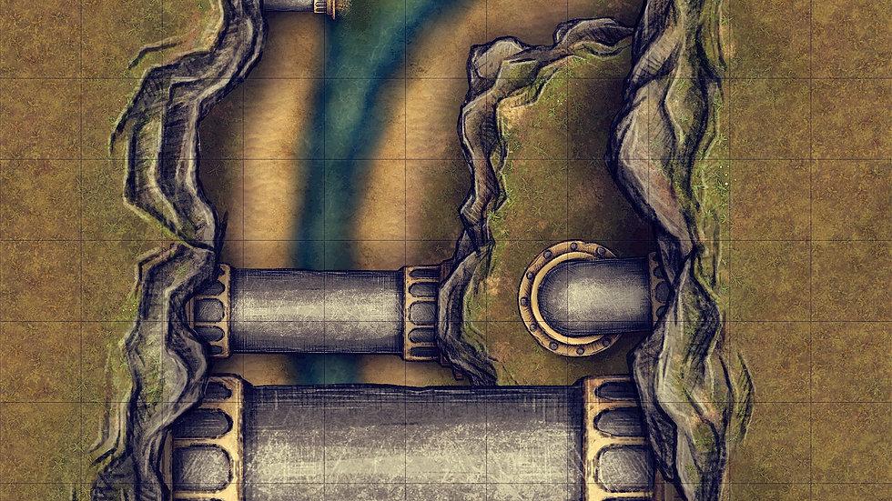 Pipes Battlemap