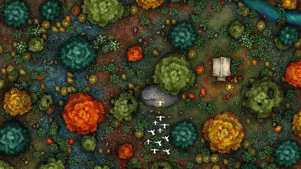 Magical Place Battlemap