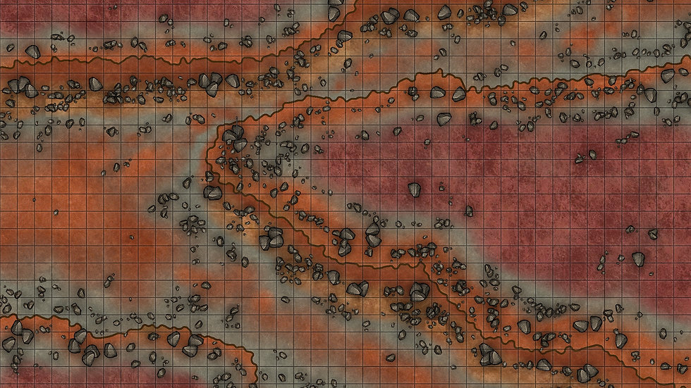 Stone Canyon Battlemap