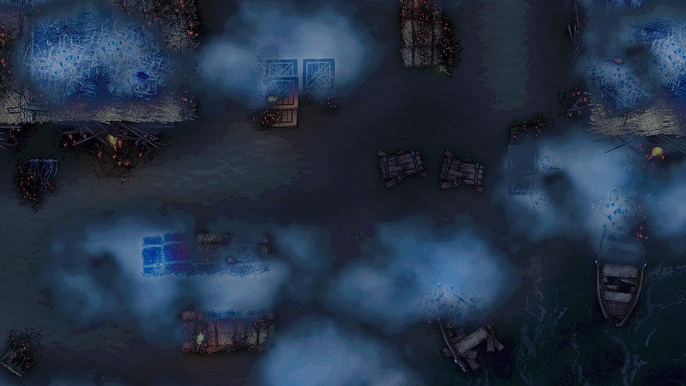 Midnight Raid Battlemap
