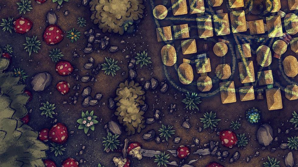Shrunken City Battlemap