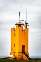 Lighthouse on the South Coast, Iceland