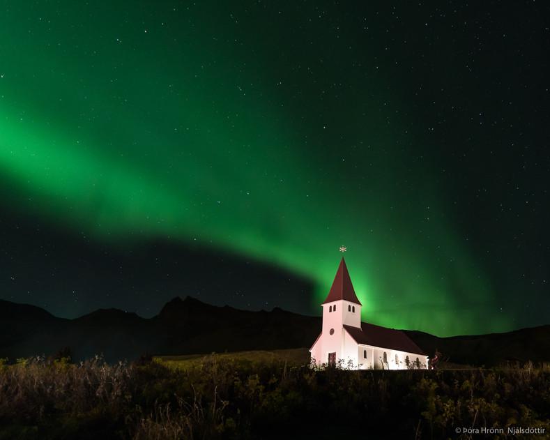 Víkur church, Iceland
