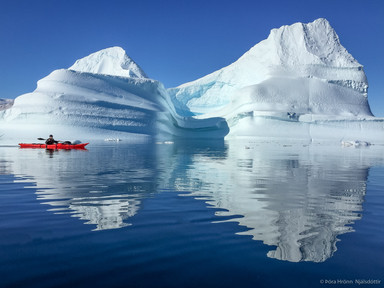 Kayaking, Scoresbysund, Greenland