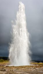 Geysir at Haukadalur, Iceland