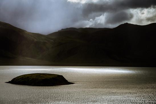 Frostastaða lake, Landmannalaugar