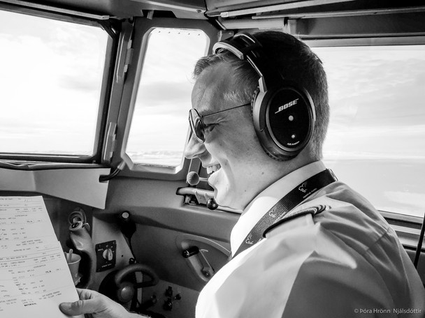 Our Pilot, Iceland Air Connect