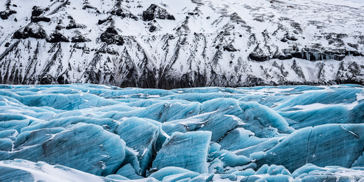Svínafellsjökull glacier, Iceland