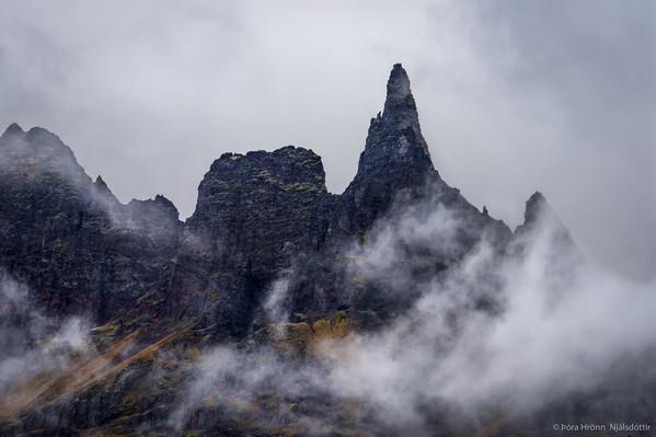 Hraundrangi in Öxnadal, Iceland