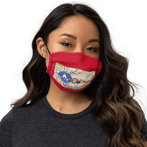 The AtoZiina Foundation face mask