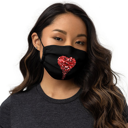 """""""Limited Edition"""" Heartbleed Premium face mask"""