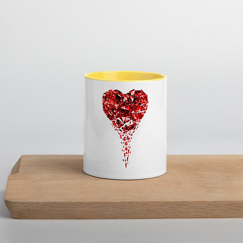 """Limited Edition"" Heartbleed Mug with Color Inside"
