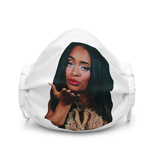 """""""Limited Edition"""" Ziina Kiss Premium face mask"""