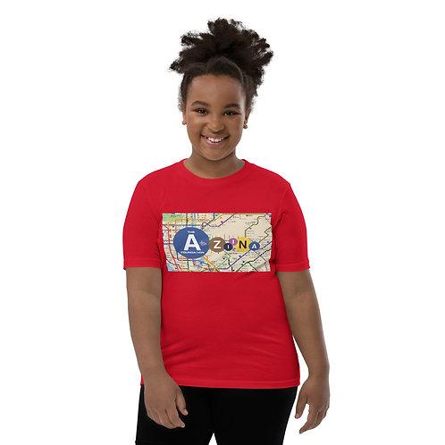 The AtoZiina Foundation Youth Short Sleeve T-Shirt