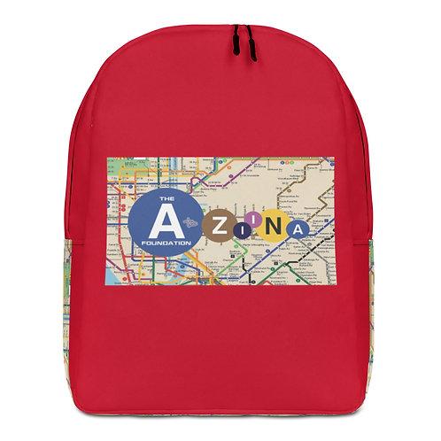 The AtoZiina Foundation Subway Backpack