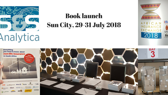 Successful book launch for our part-owned subsidiary, S&S Analytica