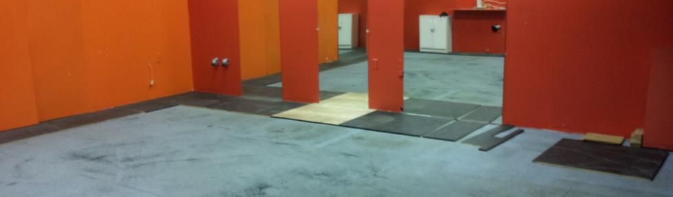 Studio Before the Flooring