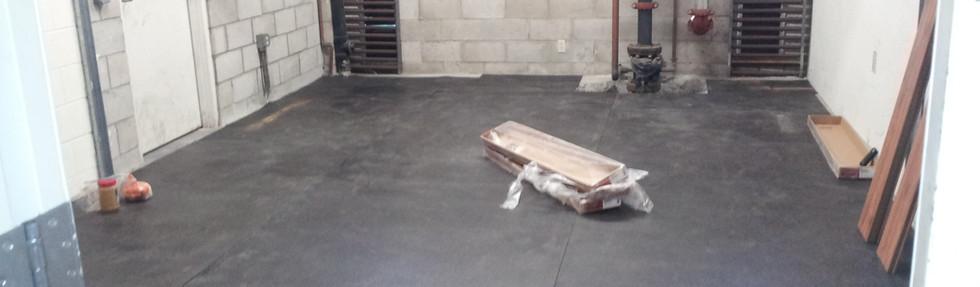 Leg Room Before the Equipment