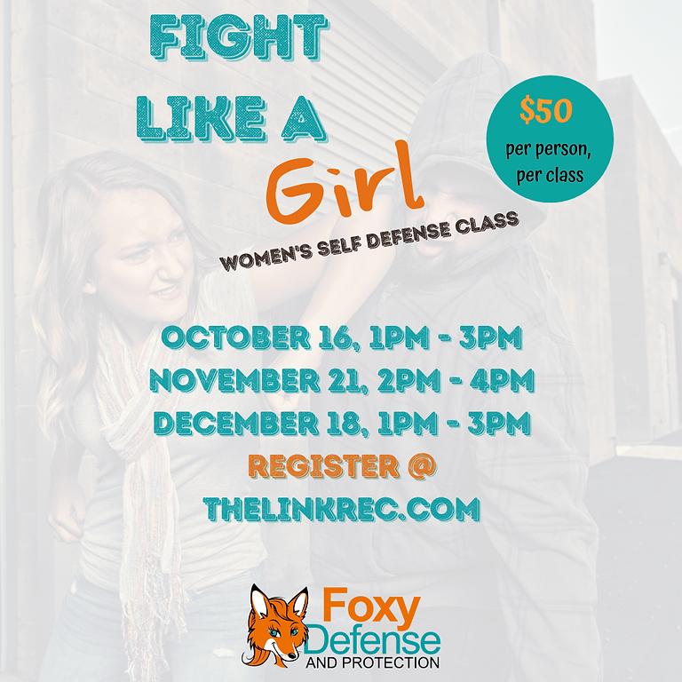 FALL Women's Self Defense Classes