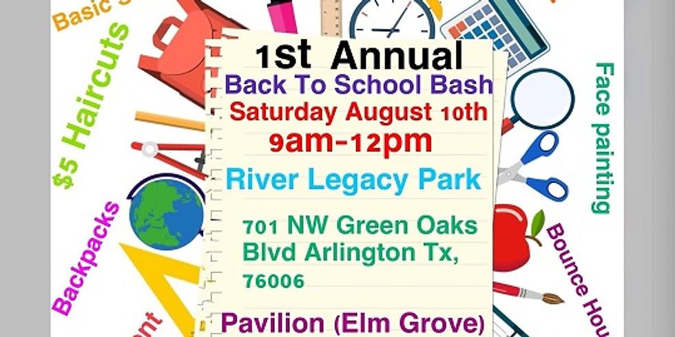 First Annual Back 2 School Bash