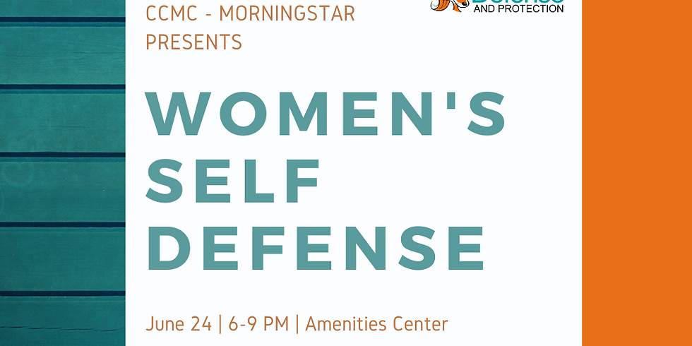 CCMC Women's Self Defense Class - JUNE