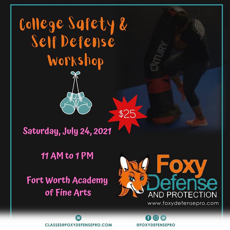 College Safety & Self Defense Workshop