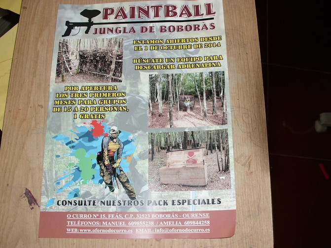 PAINTBALL PACK SENCILLO
