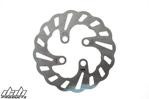 WAVY REAR BRAKE DISC FOR BETA REV3 MODELS 2003-2008 125CC TO 270CC