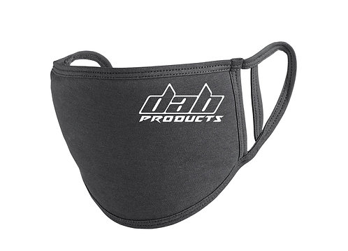 DAB PRODUCTS FACE MASK BLACK