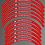 Thumbnail: TRIALS UNIVERSAL RIM STICKER SET 1PR