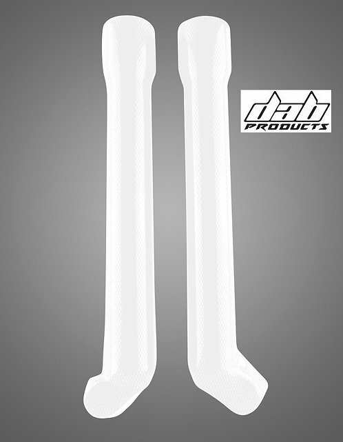 PAIOLI TRIALS LOWER FORK GUARDS COVERS WHITE