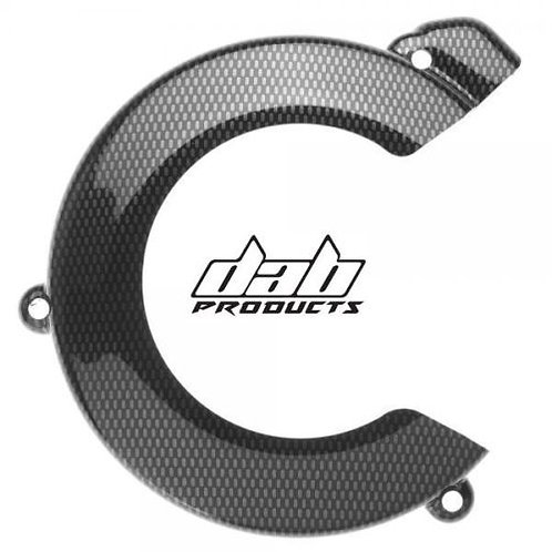 CARBON LOOK FLYWHEEL COVER CASE SAVER SCORPA 15-18 SHERCO 2011-2018
