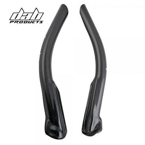 GAS GAS TXT PRO CARBON LOOK FRAME COVERS PROTECTORS 2009-2010