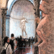 Michaelangelo in Creation, the David