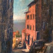 The Narrow Streets of Cortona