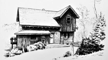 Mountain Cabin in Blue Ridge