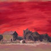 Red Sky: The Shingle House, Franklin Creighton Gold Mine