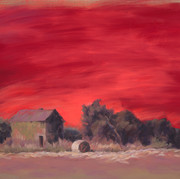 Red Sky, the Shingle House at Franklin Creighton Gold MineI: In the End.