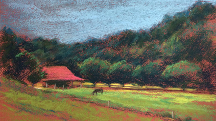 Landscape of Family Farm
