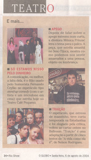O Globo - 06/08/2004