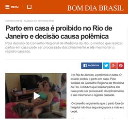 BOM DIA BRASIL - 24/07/2012