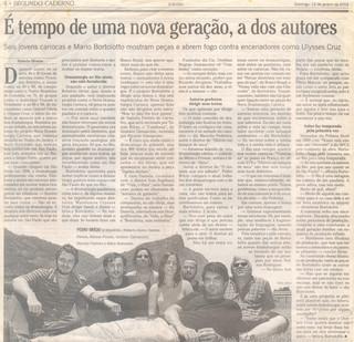 O Globo - 12/01/2003
