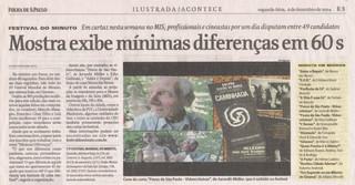 Folha de São Paulo - 06/12/2004