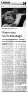 Gazeta do Povo - 08/03/2003